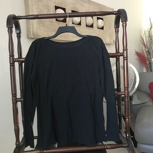 Gap size large l/s shirt